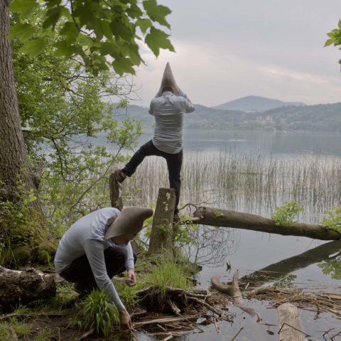 Proben nehmen am Laacher See