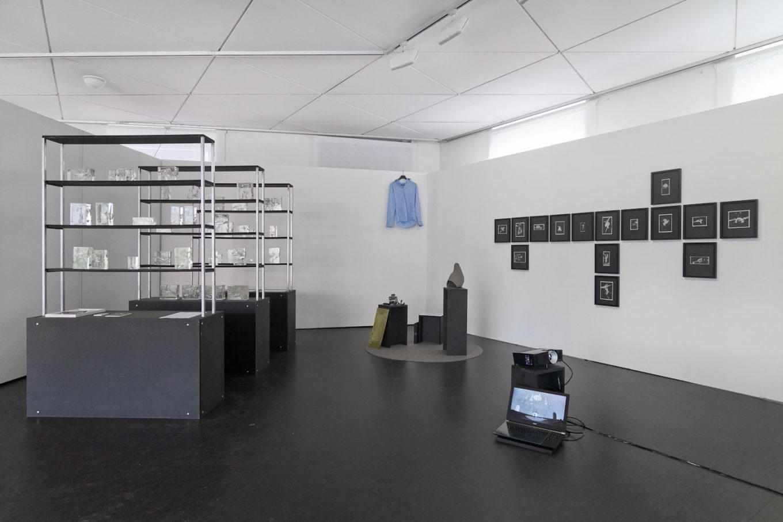 Stand auf der Künstlermesse in Karlsruhe